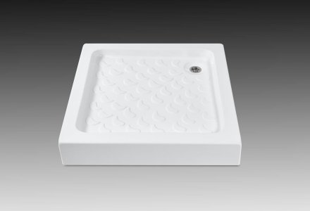 Squared shower trays